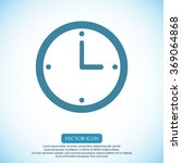 clock  icon | Shutterstock .eps vector #369064868
