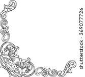 luxury corner is isolated on... | Shutterstock .eps vector #369077726