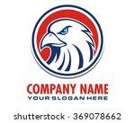 falcon bird eagle hawk head...   Shutterstock .eps vector #369078662