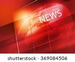 graphical digital world news... | Shutterstock . vector #369084506