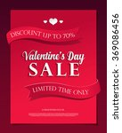 valentine's day sale | Shutterstock .eps vector #369086456