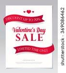 valentine's day sale | Shutterstock .eps vector #369086462