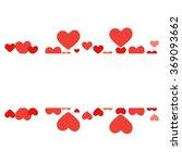 vector heart  | Shutterstock .eps vector #369093662