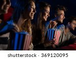 group of teenager friends at... | Shutterstock . vector #369120095