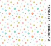 Seamless Colorful Retro Dots...
