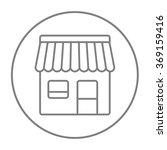 shop line icon. | Shutterstock .eps vector #369159416