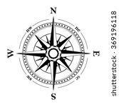 compass navigation dial  ... | Shutterstock .eps vector #369196118