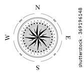 compass navigation dial  ... | Shutterstock .eps vector #369196148