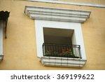beautiful window with flowers | Shutterstock . vector #369199622