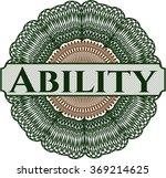 ability abstract linear rosette | Shutterstock .eps vector #369214625