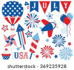 fourth of july   star spangled | Shutterstock .eps vector #369235928