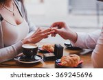 engagement ring  proposal in... | Shutterstock . vector #369245696