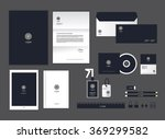 corporate identity template for ... | Shutterstock .eps vector #369299582