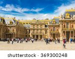 outside view of famous palace... | Shutterstock . vector #369300248