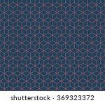 seamless dark blue and burgundy ... | Shutterstock .eps vector #369323372
