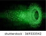 dark green light abstract... | Shutterstock .eps vector #369333542