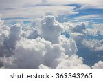 Blue Sky Background With Tiny...