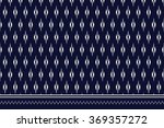 geometric ethnic pattern design ... | Shutterstock .eps vector #369357272