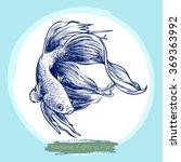 freehand sketch illustration of ... | Shutterstock .eps vector #369363992