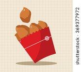 fried foods theme chicken... | Shutterstock .eps vector #369377972