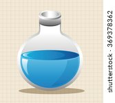 test tubes and beakers theme... | Shutterstock .eps vector #369378362