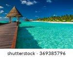 luxurious wooden outdoor... | Shutterstock . vector #369385796