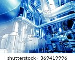 sketch of equipment  cables and ... | Shutterstock . vector #369419996