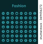 set of fashion simple icons | Shutterstock .eps vector #369456272