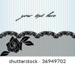 Black French Lace Background...