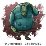 monster of dr. frankenstein | Shutterstock .eps vector #369504362