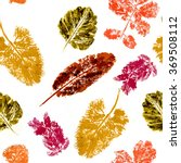 orange texture of the leaves | Shutterstock . vector #369508112