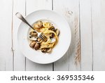 Seafood Pasta With Clams...