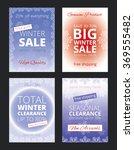 set of vector brochures for... | Shutterstock .eps vector #369555482