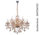 chandelier in vintage style...   Shutterstock . vector #369556532