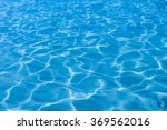 Blue Water Surface.