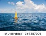 Yellow Sea Buoy  In Andaman Se...