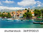 view on old town cavtat in... | Shutterstock . vector #369593015