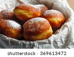homemade doughnuts filled with... | Shutterstock . vector #369613472