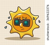 weather sunny day theme elements | Shutterstock .eps vector #369622376