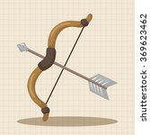 weapon arrow theme elements | Shutterstock .eps vector #369623462