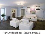modern guestroom interior in... | Shutterstock . vector #369659018