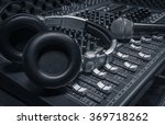 microphone headphone sound... | Shutterstock . vector #369718262
