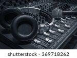 microphone headphone sound... | Shutterstock . vector #369718262