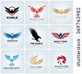 Eagle Logo Set.