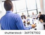 business presentation on...   Shutterstock . vector #369787502