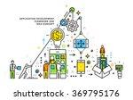 flat style  thin line art... | Shutterstock .eps vector #369795176