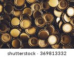 beer bottle caps piled | Shutterstock . vector #369813332