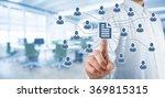 corporate data management... | Shutterstock . vector #369815315