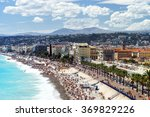 Summer Beach In Nice  Overview...