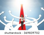 concept of confused... | Shutterstock . vector #369839702